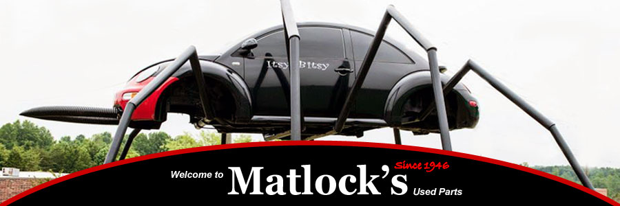 Matlock's Used Auto Parts - Hickory, Cleveland & Hillsville;